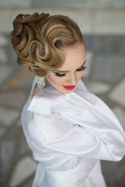beautiful finger wave hairstyles