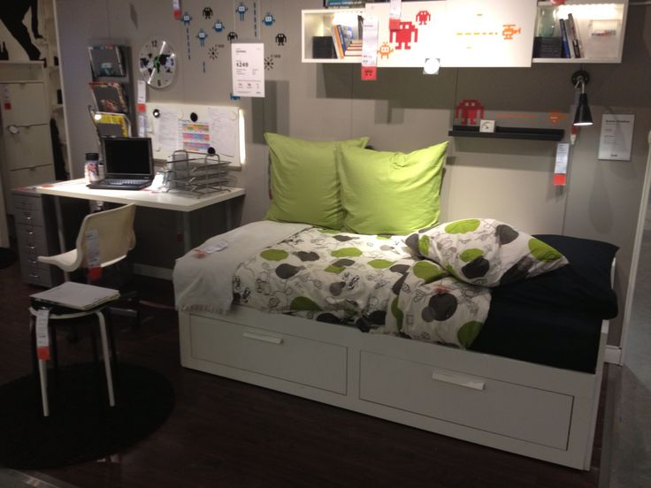 Brimnes Bed At Ikea Boys Room Pinterest Beds And Ikea
