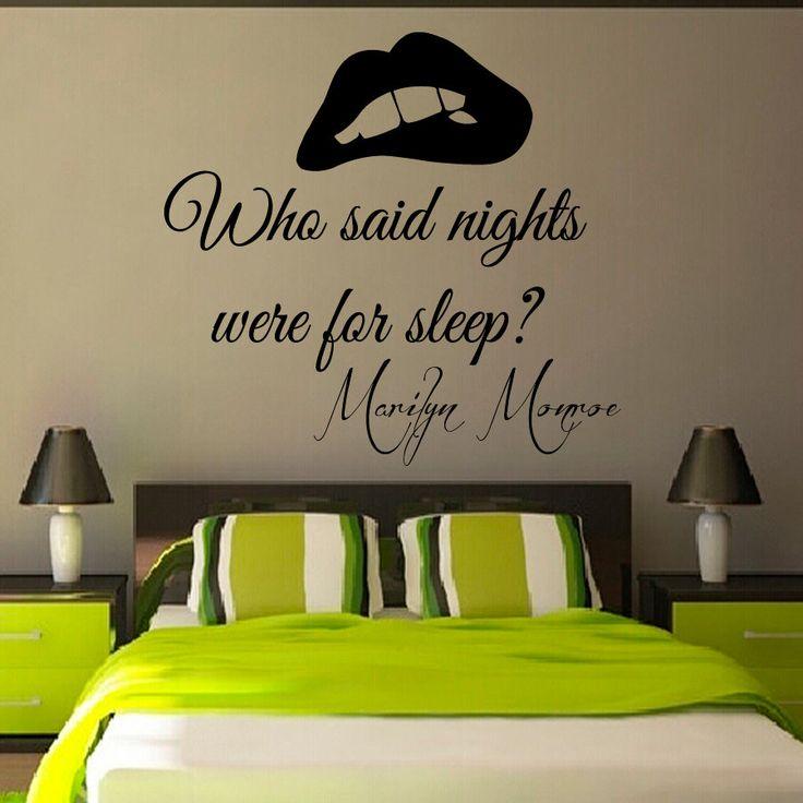 25+ best Bedroom Quotes on Pinterest
