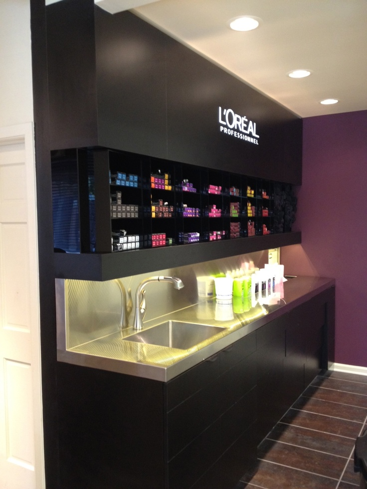 25 best ideas about Salon color bar on Pinterest  Salon