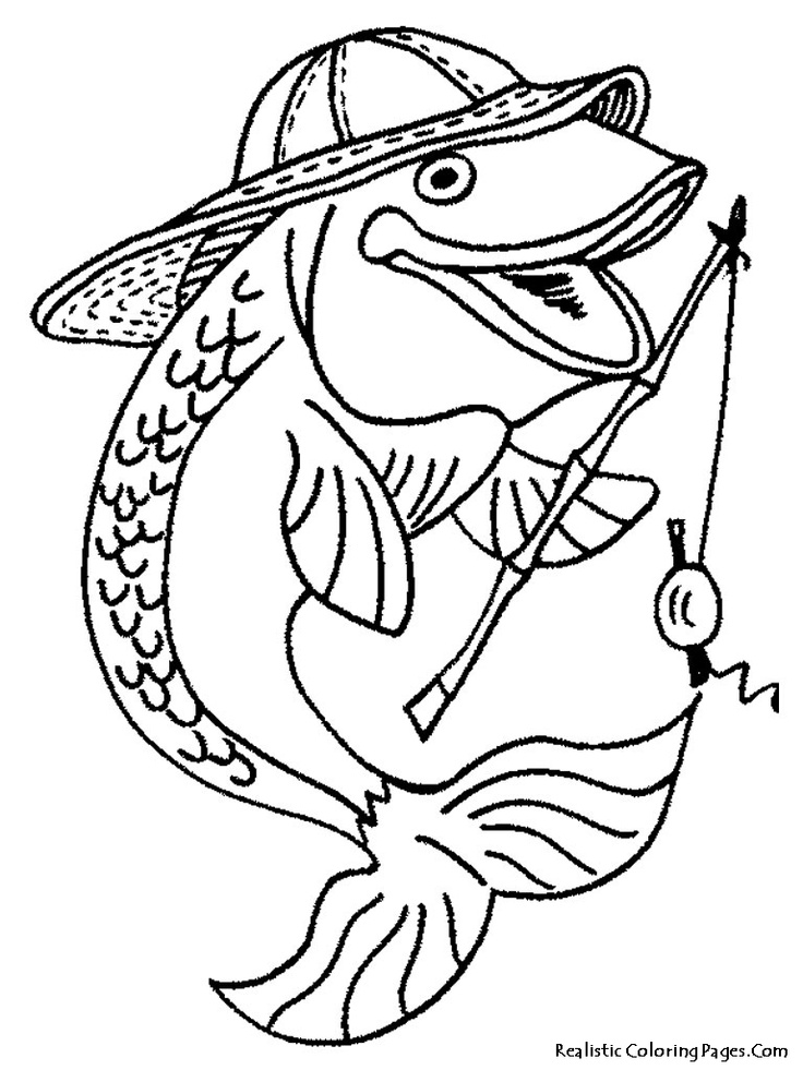 17 Best images about Coloriage poissons on Pinterest