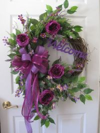 Welcome Wreath, Four Season Wreath, Front Door Wreath, All ...