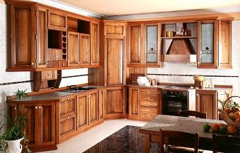 Gabinetes de madera para la cocina  Cocina  Decora