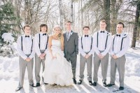 #suspenders #groomsmen #bow #ties | FUTUREEEEEEE wedding ...