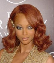 curly copper hair - google