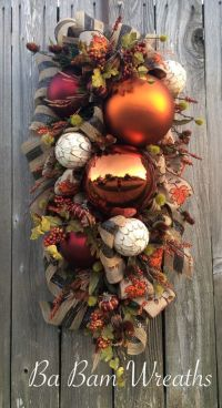 1000+ ideas about Fall Swags on Pinterest | Fall Wreaths ...