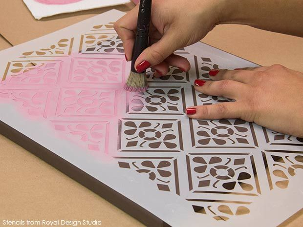 17 Best images about How to: Stencil on Pinterest