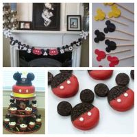 Mickey Mouse baby shower theme | Baby shower | Pinterest ...