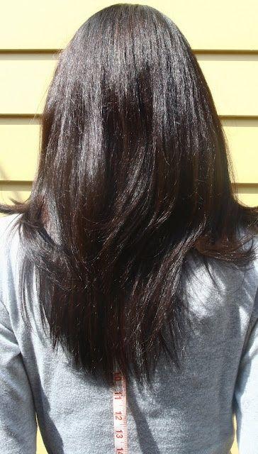 U Shaped Hemline Long Hair Pinterest V Shaped