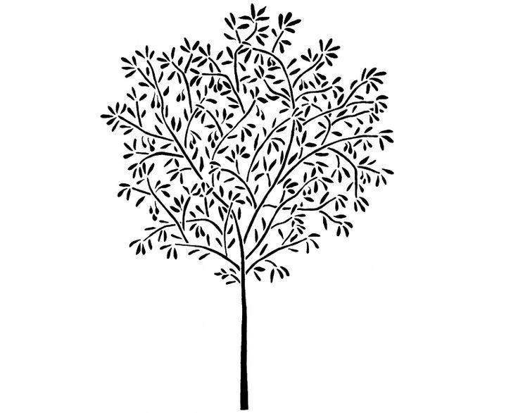 25 Best Ideas About Tree Wall Stencils