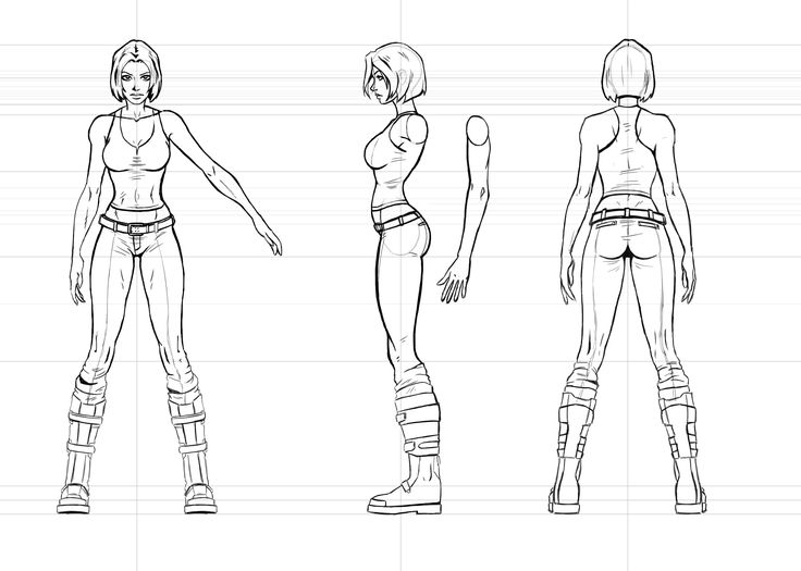 17 Best images about Reference Model Sheets on Pinterest