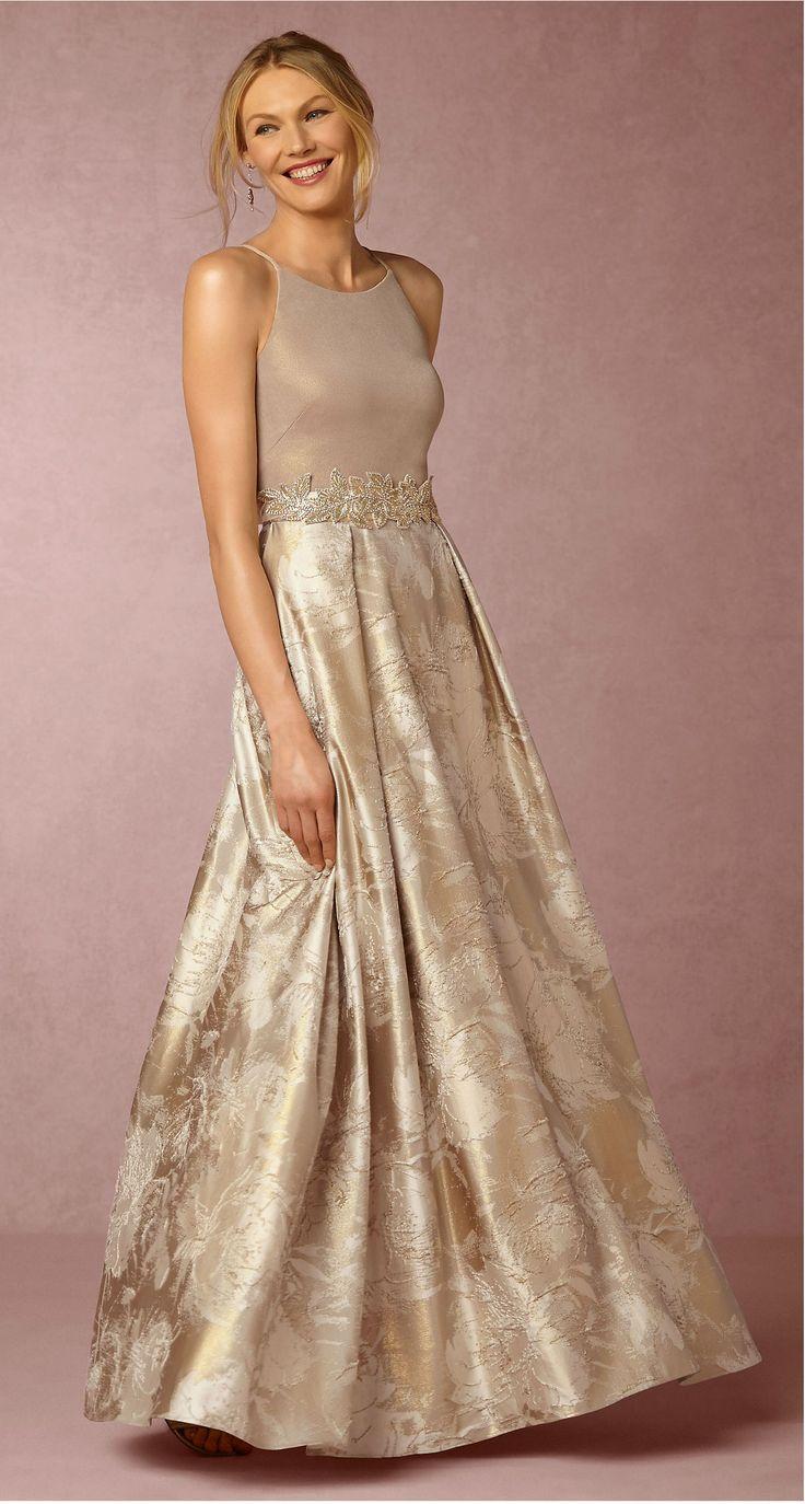 Champagne motherofthebride dress  Lizbeth Dress from