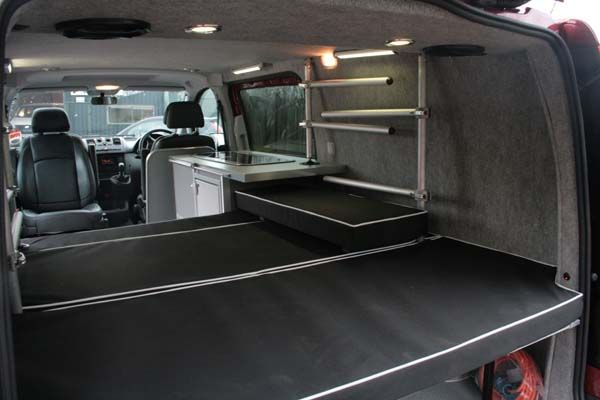 2012 Updated version of ActionVans 2 Berth n Surf for