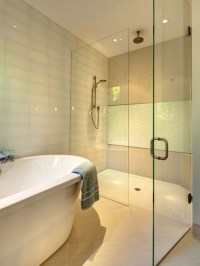 Clifford M. Scholz Architects Inc. Glass Tile Shower 6x12 ...