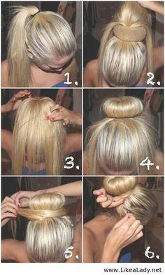 25 Best Ideas About Hair Bun Donut On Pinterest Donut Bun