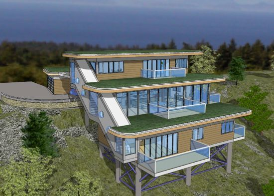 43 Best Images About House On Slope On Pinterest House Plans A