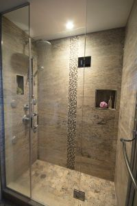 Stand up shower, rain shower head, spa