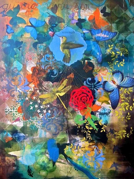 Mind Body Spirit Odyssey Mind Body Spirit Artist Interview Fernanda Gonzalez art collage