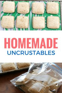 DIY Uncrustables Sandwiches  not that it takes long to make a pb & J but this could be a fund switchfree: