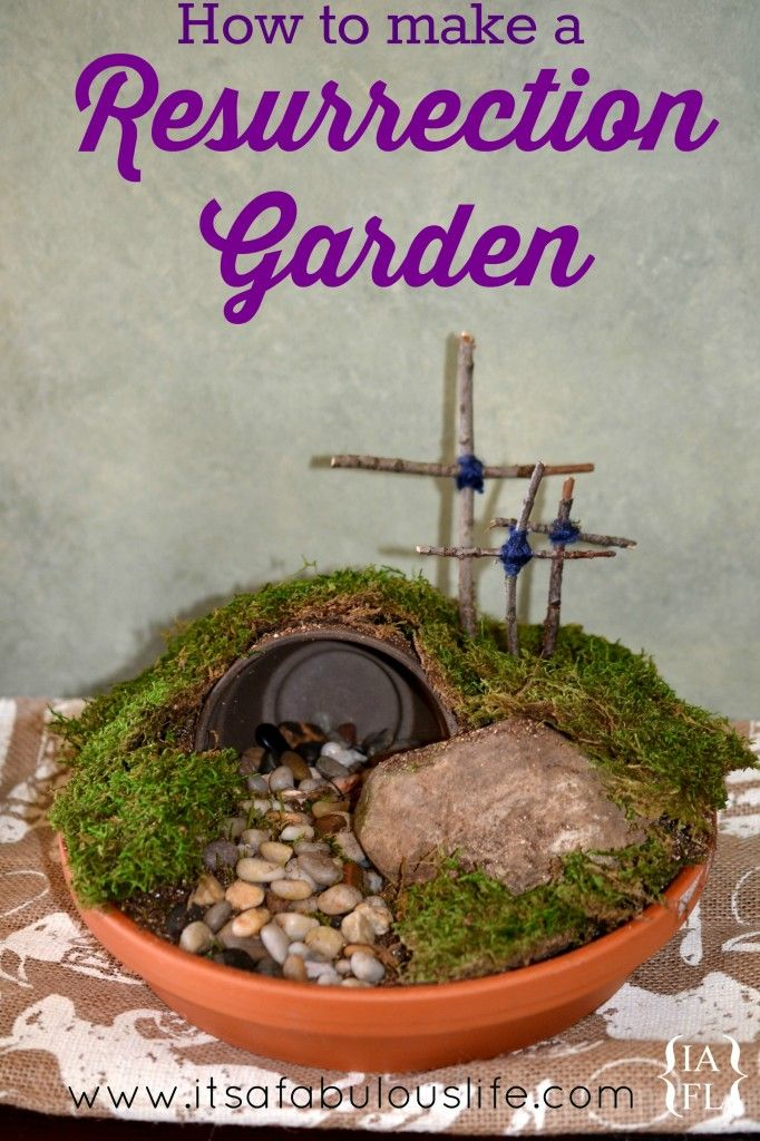 25 Best Ideas About Easter Garden On Pinterest Jesus Tomb Found