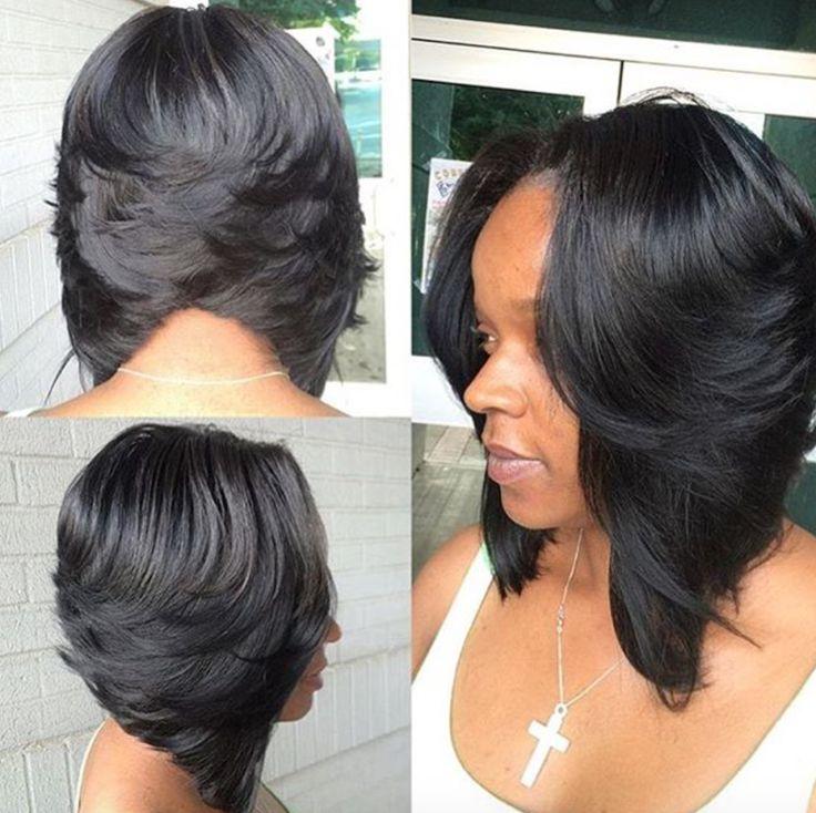 25 Best Ideas About Black Bob Hairstyles On Pinterest Black