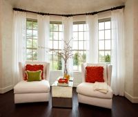 17 Best ideas about Bay Window Curtains on Pinterest | Bay ...