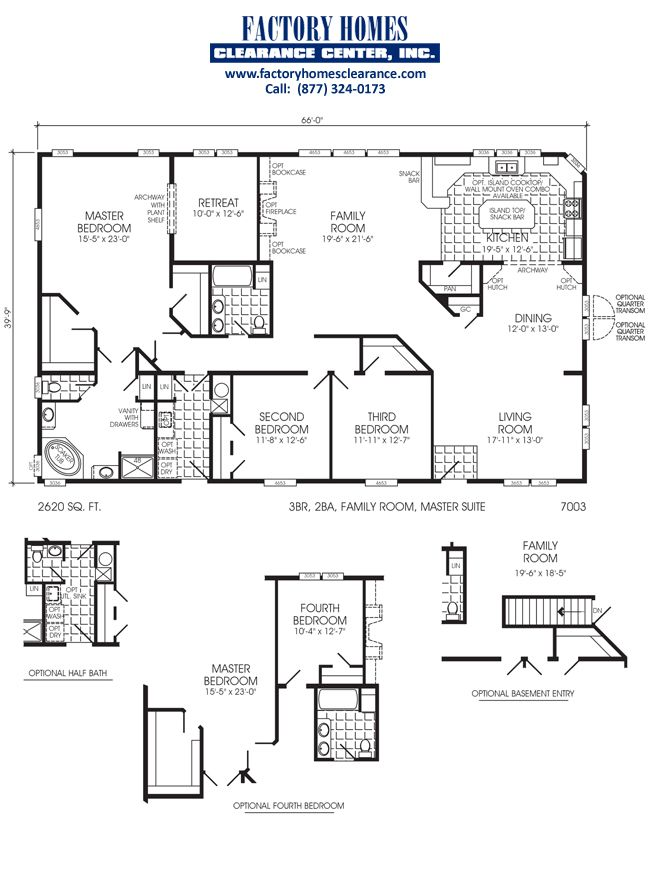 Old Fleetwood Mobile Home Floor Plans