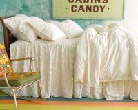 Pine Cone Hill Candlewick Dove White Bedding | Gracious ...