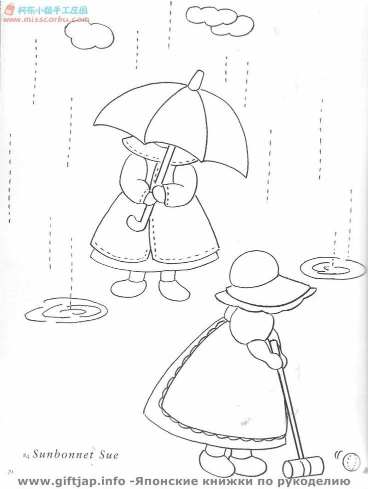173 best images about Sue Bonnets Patterns on Pinterest
