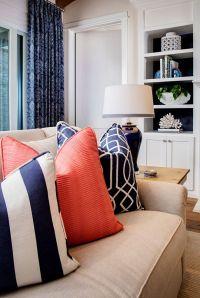 25+ best ideas about Navy Pillows on Pinterest | Navy blue ...