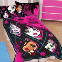 Looking for bedding with a scary-cute twist... | monster ...