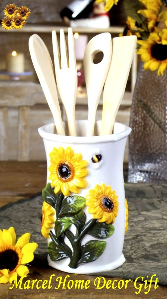 25 best ideas about Sunflower kitchen decor on Pinterest