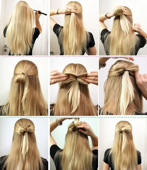 25 Best Ideas About Hair Bow Hairstyles On Pinterest Bow