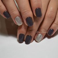 25+ best ideas about Dark Nails on Pinterest | Dark nail ...