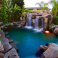 25+ Best Ideas about Grotto Pool on Pinterest