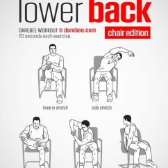 Office Chair Upper Back Pain Chairs On Wheels For Dining Lower Workout (chair). Www.bacrac.co.uk/ | Relax & Yoga Pinterest Workout, Exercises ...