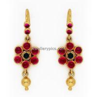 GRT ruby earrings designs - Latest Jewellery Designs ...