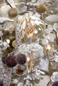 Ballerina ornament in the Winter Frost theme by Goodwill ...