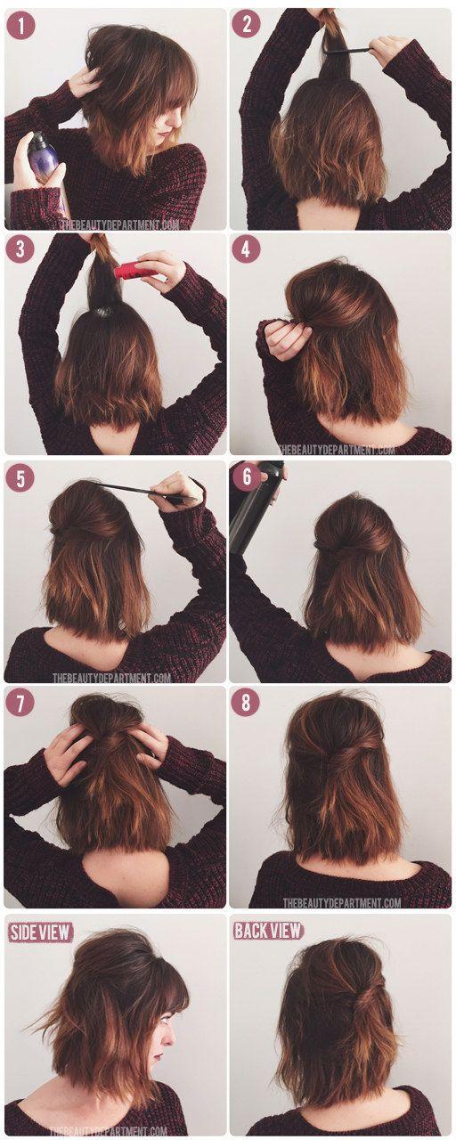 25 Best Ideas About No Heat Hairstyles On Pinterest No Heat