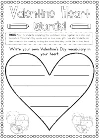 13 best images about Valentine's Day Worksheets and More ...