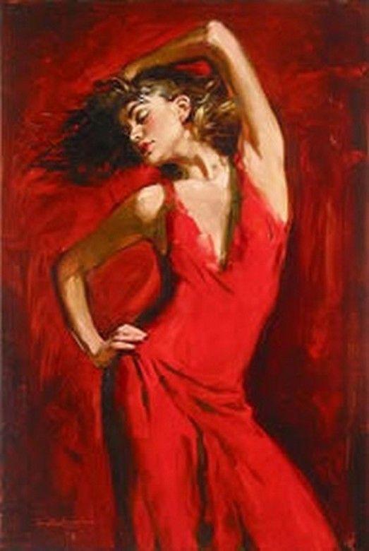 17 Terbaik gambar tentang Red Art  Red Paintings  Red