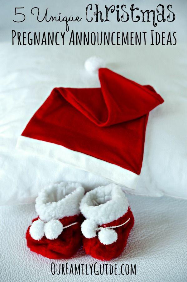 5 Unique Christmas Pregnancy Announcement Ideas The O
