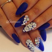 3d flower nails ideas