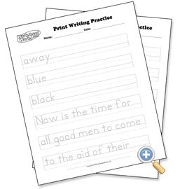 1000+ ideas about Handwriting Sheets on Pinterest