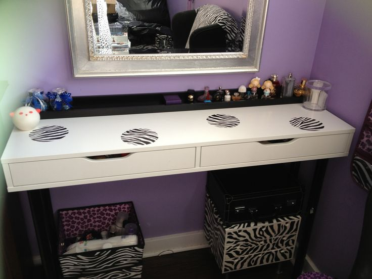 Room decor makeup table from ikea  My Projects