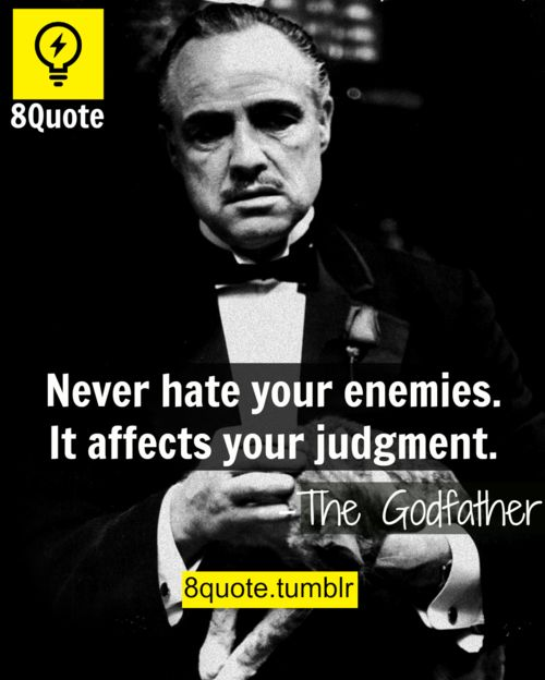 Spiritual Gangster Quotes Wallpaper The Godfather Words Of Wisdom 8quote Sayings