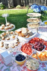 25+ best ideas about Outdoor Bridal Showers on Pinterest
