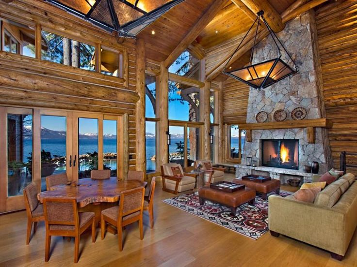 Celebrity and Famous Homes Near Lake Tahoe  Home Lakes and Thunderbird lodge