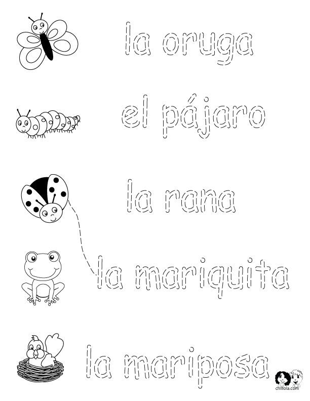 25+ Best Ideas about Spanish Worksheets on Pinterest