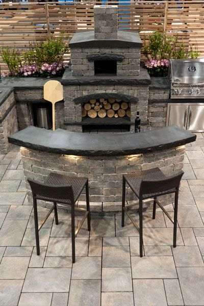 outdoor kitchen…could be my next project!!! Would LOVE!